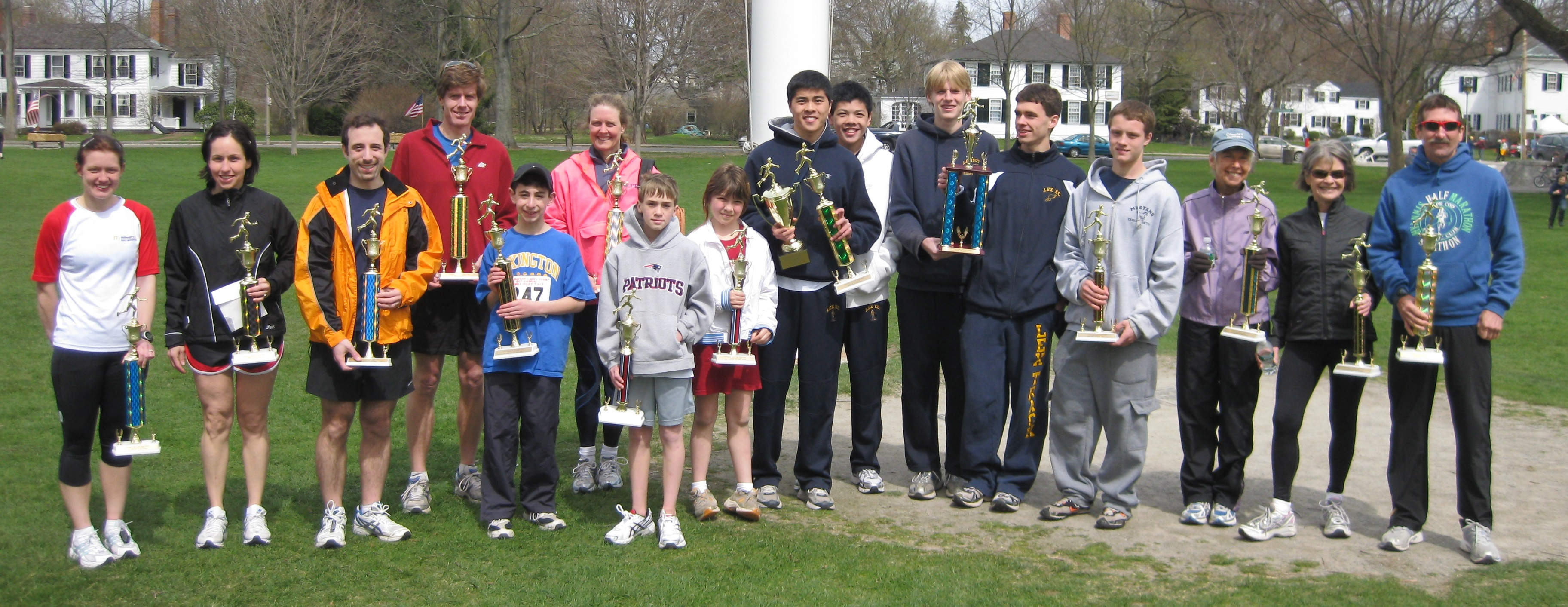 2009 Patriots Day Road Race Award Winners