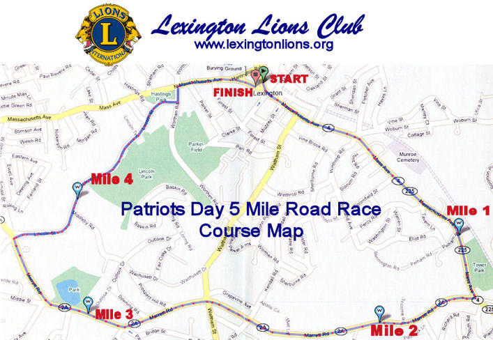 Race Map In Detail